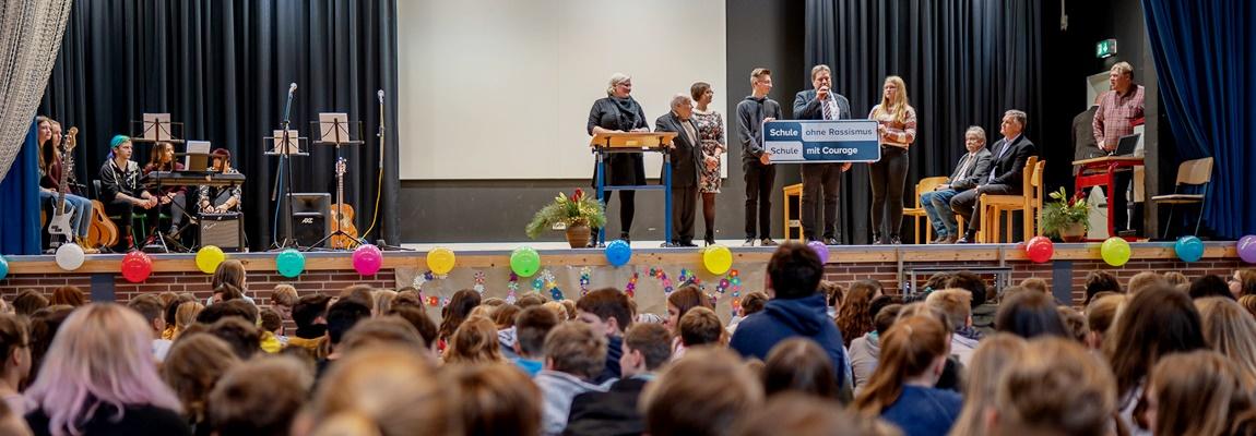 "Oberschule offiziell ""Schule ohne Rassismus"""